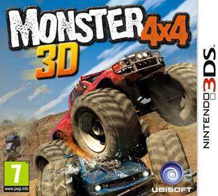 Portada-Descargar-Rom-3DS-Mega-Monster-4x4-3D-EUR-3DS-Multi5-Espanol-gateway3ds-sky3ds-mega-xgamersx.com