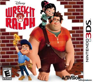 Portada-Descargar-Rom-3DS-Mega-Wreck-It-Ralph-EUR-3DS-Multi-Espanol-Gateway3ds-Emunad-Sky3ds-Mega-xgamersx.com