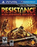Resistance Burning Skies – [PSVITA] [EUR] [VPK] [HENKAKU]