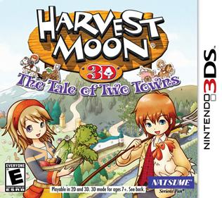 Portada-Descargar-Rom-3DS-CIA-Mega-Harvest-Moon-3D-The-Tale-of-Two-Towns-USA-3DS-Gateway3ds-Emunad-Sky3ds-Mega-Roms-xgamersx.com