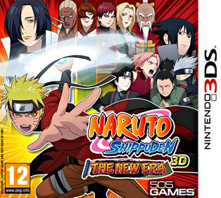 Portada-Descargar-Rom-Naruto-Shippuden-3D-The-New-Era-EUR-3DS-Multi2-Espanol-Gateway3ds-Emunad-Gateway-Ultra-Mega-xgamersx.com
