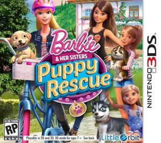 Portada-Descargar-Roms-Mega-Barbie-Her-Sisters-Puppy-Rescue-EUR-3DS-Multi3-Gateway3ds-Sky3ds-CIA-Emunad-xgamersx.com