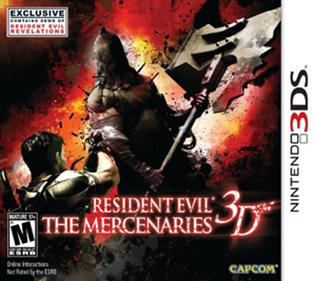 Portada-Descargar-Rom-Resident-Evil-The-Mercenaries-3D-EUR-3DS-Multi-Espanol-Gateway3ds-Sky3ds-CIA-xgamersx.com