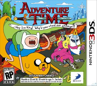 Portada-Descargar-Roms-3DS-Mega-Adventure-Time-Hey-Ice-King-Why-d-You-Steal-Our-Garbage-USA-3DS-Gateway3ds-Sky3ds-CIA-Emunad-xgamersx.com