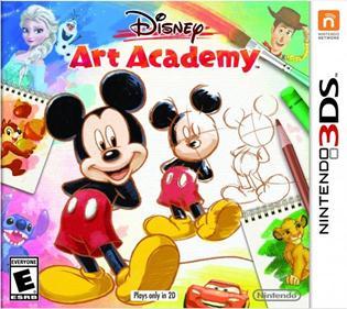 Portada-Descargar-Roms-3DS-Mega-Disney-Art-Academy-USA-3DS-Multi-Espanol-Gateway3ds-Sky3ds-CIA-Emunad-XGAMERSX.COM