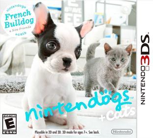 Portada-descargar-rom-3DS-Mega-CIA-Nintendogs-Plus-Cats-French-Bulldog-and-New-Friends-EUR-3DS-Multi6-Espano-gateway3ds-sky3ds-mega-emunad-xgamersx.com