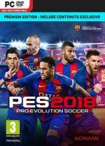 Pro Evolution Soccer 2018 [PC-Game]  [Multi-Español-Latino]  [Mega] [ISO]