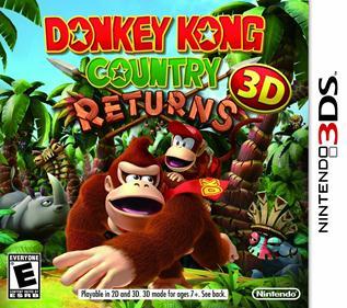 Portada-Descargar-Rom-Donkey-Kong-Country-Returns-3D-USA-3DS-Espanol-Ingles-Gatewa3ds-Sky3ds-Mega-Roms-Mega-xgamersx.com