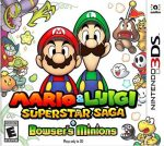 Mario & Luigi Superstar Saga + Browser's Minions [USA] 3DS [Multi-Español] CIA