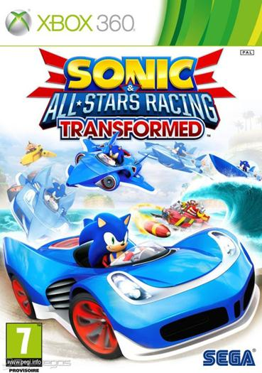 Sonic All Stars Racing Transformed Xbox 360 Rgh Jtag Region