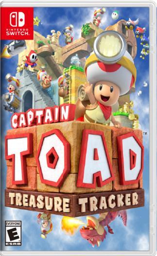 Captain Toad Treasure Tracker Nsp Switch Multi Espanol Mega